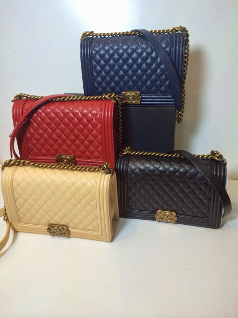 1a13db2f7742a9 Chanel Boy Medium Caviar 28cm Mirror Quality Original Leather Bag IDR  6,500,000 ( box & paperbag available)